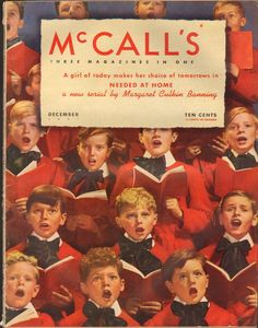 December 1941 Christmas Cover, Christmas And New Year, Vintage Christmas, Christmas Holidays, 1940s Decor, Ayurveda Pitta, Red Books, Editorial Design, Magazine Covers