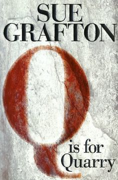 Sue Grafton book Q Is For Quarry (HARD COVER)