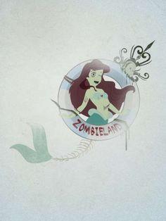 Zombie Disney Princesses : Miguel Gutierrez