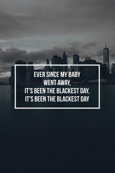 Lana del Rey. The Blackest Day. // #lyrics #Blackest_Day