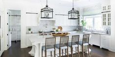 Gray spindle barstools
