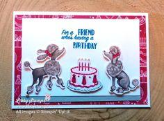 LibbyStampz - Libby Dyson Stampin' Up! Demonstrator Sydney Australia - Stampin' Up! Friend Birthday, Birthday Kids, Diy Paper, Paper Crafts, Birthday Delivery, Stampin Up Catalog, Heartfelt Creations, Happy Birthday Cards, Kids Cards