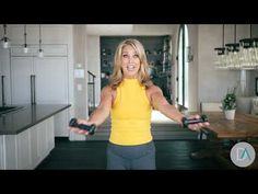 Sexy Arm Workout Part 3 Minutes to Trimmer Arms - Denise Austin Denise Austin, Toning Workouts, Easy Workouts, At Home Workouts, Arm Exercises, Exercise Workouts, Stretches, 3 Minute Arm Workout, Tone Arms Workout