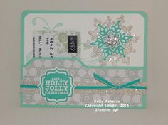 Sparkling Gift Card Holder Video by Technique_Freak - Cards and Paper Crafts at Splitcoaststampers