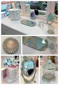 We love anything bling, show off the sparkle with these decor pieces.