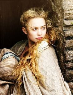 "Sophia Myles portrays the character of Isolde in the movie ""Tristan + Isolde""......"