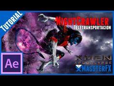 After Effects Tutorial    Teletransportacion #NightCrawler #Xmen - YouTube