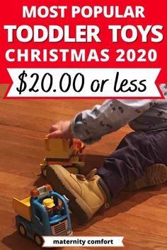 We found the best 7 Hot Toddler Christmas Gifts For Under $20[2020], Christmas toys for toddlers, toddler toys that will last, toddler fine motor activities.