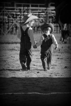 Little country boys, how cute!!