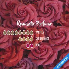 Romantic Perfume — Essential Oil Diffuser Blend