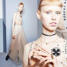 Образы показа Christian Dior весна-лето 2017