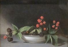 Blackberries. Raphael Peale. American. Oil on Wood. Unit 4 supplement.