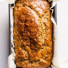 Healthy Banana Bread (Video) - iFOODreal - Healthy Family Recipes - Simple, easy, moist and super Healthy Banana Bread Recipe with applesauce, whole wheat flour, maple - Super Healthy Banana Bread, Low Fat Banana Bread, Banana Bread With Applesauce, Healthy Banana Recipes, Whole Wheat Banana Bread, Flours Banana Bread, Easy Bread Recipes, Recipe With Applesauce, Healthy Zucchini Bread