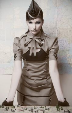 Dieselpunk Fashion - BlackMirror Design