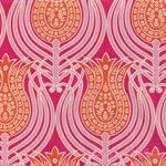 Joel Dewberry Notting Hill Tulips Tangerine [FS-JD060-Tangerine] - $10.45 : Pink Chalk Fabrics is your online source for modern quilting cottons and sewing patterns., Cloth, Pattern + Tool for Modern Sewists