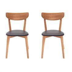 MONOQI | Set aus 2 Aida Stühle