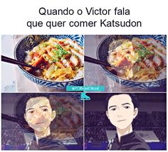 Anime yaoi, cosplay, Crazy and Kawaii Desu, kawaii, review anime, Spoiler Zone, Victurio, Yuri On Ice, Yuri On Ice Curiosidades, meme