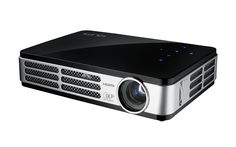 Small projector great work! Vivitek Qumi Q5 500 Lumen WXGA HD 720p HDMI 3D-Ready Pocket DLP Projector with 4GB Memory (Black)(Certified Refurbished) - For All Offices Products Item Catalog (II)