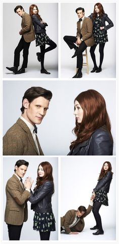 The 11th Doctor Amy #doctorwho #mattsmith