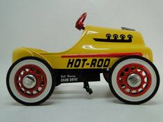 Pedal Car Rare Indy Race F1 Hot Rod Vintage Classic Sport Midget Show Model