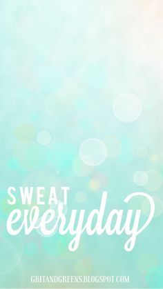 FitSpiration :: iPhone wallpaper to help you reach your fitness goals #gritandgreens