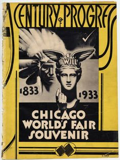 Souvenir booklet, 1933 World's Fair; University of Chicago Libraries Special Collections Research Center