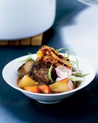 Short Rib Stew with Caramelized Kimchi Recipe on Food & Wine