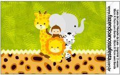 Rótulo Lata de Leite Safari