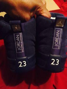 38b576d06ca8 Authentic Great Condition Men Air Jordan 12 Suede Blue From Nike.com   NikeAirJordan