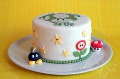Sarahs Torten und Cupcakes: Super Mario Torte ohne Mario ;)
