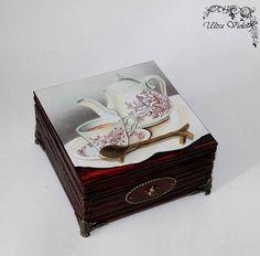 Exklusive Teebox Tea box  Tee Tea Teebeutel Teekiste