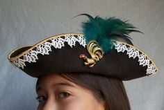 All Things Crafty: Info about the details of this hat.