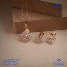 Get In Touch With us on Diamond Earrings Indian, Diamond Drop Earrings, Diamond Pendant, Diamond Jewelry, Gold Necklace Simple, Gold Jewelry Simple, Stylish Jewelry, Gold Earrings Designs, Gold Jewellery Design