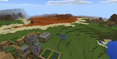 It looks like two separate villages when you use this seed spawns. Therefore, they provide enough food for you in several weeks. Here is also an ideal place for you to discover the natural world with the appearance of a big spawn mesa biome. You have a good chance to find out a huge source of... http://mcpebox.com/mesa-biome-villages-seed-minecraft-pe/