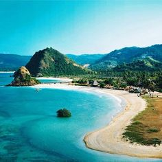 Seger Beach, Lombok Island, Indonesia.
