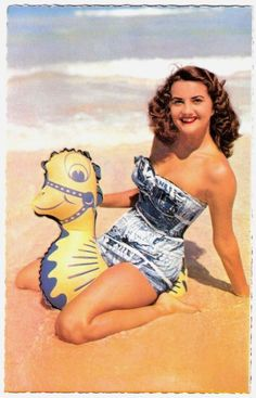 vintage pin up photo maillot de bain image années 50