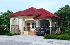 Mark, Elevated One Story House Plan - Pinoy Cool House Plans