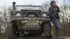 Richard Hammond's Land Rover Defender