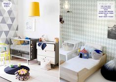 Styling Recipe: Choosing the right wallpaper for a nursery