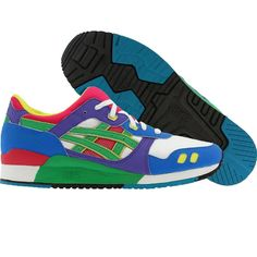 new gel lyte 3 asics! so many colorsss