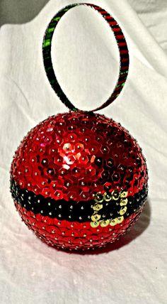 Santa Claus ornamento de la Navidad por stormsleadtorainbows