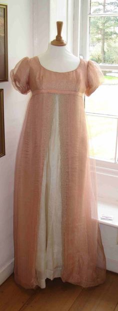 Pink ball gown worn by Romola Garai in Emma (2009).