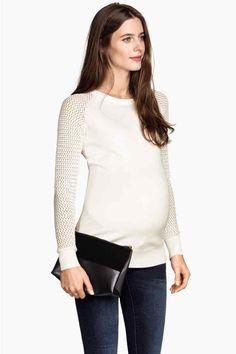 MAMA Camisola de malha fina | H&M