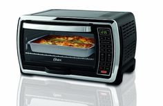 Recognized as one of the best products of 2011 in a leading consumer research magazine   6-slice toaster oven with convection technology for faster, more even cooking   Digital controls with interior light for easy viewing   Extra-large interior holds 13 by 9 pan, whole chicken, casseroles, roast and ham   Removable external crumb tray; two rack positions
