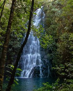 Fantasy trips by mandagregs on pinterest athletic women - Crystal pools waterfall ...