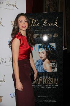 Emmy Rossum: Vegas Magazine cover girl