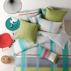 Linen House Cody - Bedroom Quilt Covers & Coverlets - Adairs Online