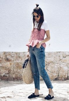 Perfect outfit for warm days by @lookfortime!