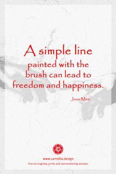 Artist Quotes, Joan Miro, Artist Life, Heart Art, Make Art, Simple Lines, Journal Pages, Word Art, Art History