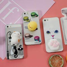 Facebook Trending Squishy Phone Case 3 Designs for iPhone 5 5S SE